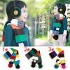 2013韩国新款儿童围巾|宝宝彩条围巾|百搭提花拼色宝宝围巾M160
