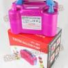 【厂家直销】批发价销售  气球电动充气泵  双孔充气泵 电动气筒